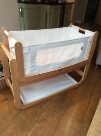 Snuzpod 3-in-1 bedside crib