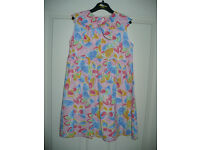 Bundle of 7 summer dresses for girl 5-6 years old. Very good condition. All 100% cotton.
