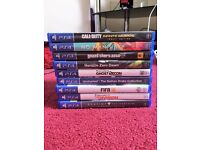 PS4 GAMES £110 FOR THE LOT. ALL IN GREAT CONDITION.
