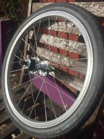 Brompton rear wheel 2 speed