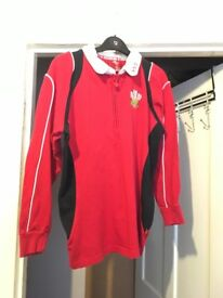 Boys WRU welsh rugby jersey age 13
