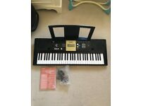 Yamaha full-size digital keyboard PSR-E223