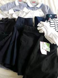 Girls bundle of NEW & Used school clothing&Shoes