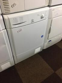 INDESIT CONDENSER DRYER 8. KG GOOD CONDITION