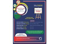 Free Art, Crafts and music workshops
