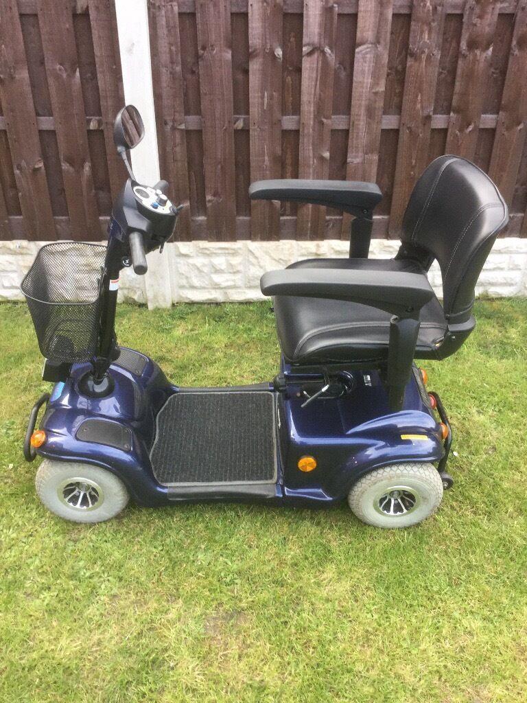Wheeltech monami vitesse mid range 6mph mobility scooter.   in ...