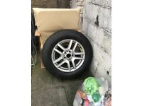 Bmw x5 spare alloy