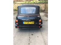 Mini thirty convertible H reg 1990 classic mot 20/08/18 excellent condition