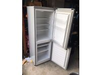 Fridge Freezer - Silver - Less than 2 years old - Excellent Condition