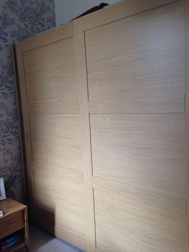Homebase Schreiber 2 Door Wardrobe