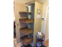 Tall pull out kitchen cupboard