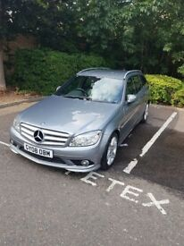 C220 CDI Mercedes Estate, Silver, FSH, £6400