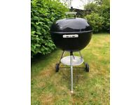 Weber! Weber! Weber! BBQ for Sale 57 cm Charcoal Kettle Style, well cared for and dry stored.