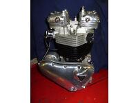 Triumph pre-unit engine,rebuilt.