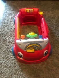 Fisher-Price Laugh & Learn Crawl a Round Car in excellent condition
