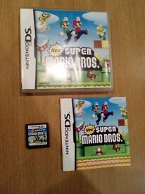 New Super Mario Bros for Nintendo DS, 3DS, 2DS, 3DS XL etc