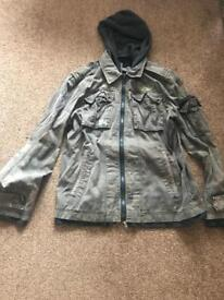 River island coat large