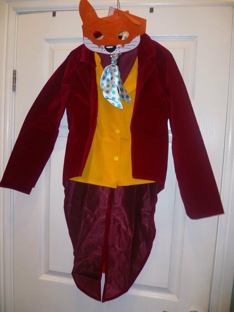 Smiffy's Fantastic Mr Fox aged 10-12 years
