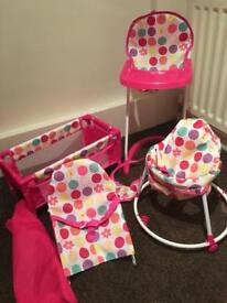 4 piece children's baby bundle