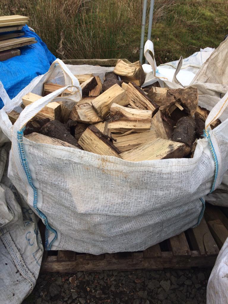 Mixed logs bulk bag