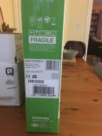 "BRAND NEW! UNOPENED!! Toshiba 24"" LED Backlight TV"