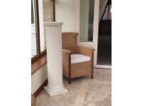 White decorative column