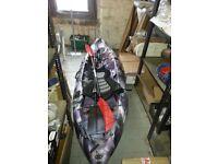 Galaxy cruz sea kayak, comes with everythin in photo