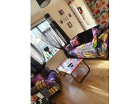 Beautiful 3 seater sofa and armchair