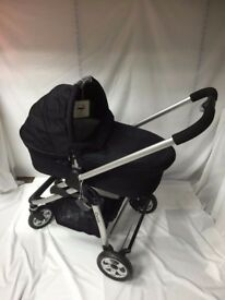 iCandy Cherry Black Single Seat Stroller with carrycot (X-Display)