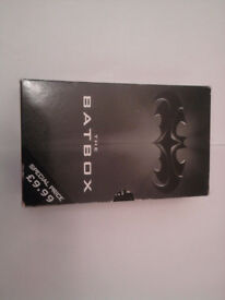 Batbox Trilogy Books Batman, Batman Forever, Batman and Robin