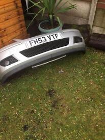 Vauxhall corsa c SRI front bumper