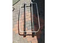 Peugeot 206 cc boot rack chrome