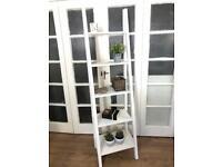 Ladder Bookcase/Shelves Unite Free Delivery Ldn Shabby Chic Bookshelf