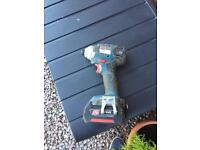 Bosch 18v impact driver and battery read add