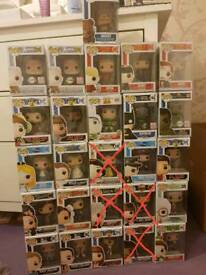26 Various Vinyl Pop Funko - ask for prices