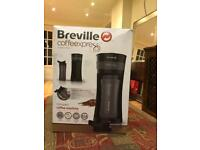 Breville coffee express machine with flask