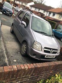 2005 Vauxhall agila 12 MONTHS MOT