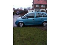 vauxhall marive. m.o.t end feb. needs new break pads as grinding and indicators problem