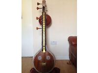 Veena (not sitar) Classical Indian instrument