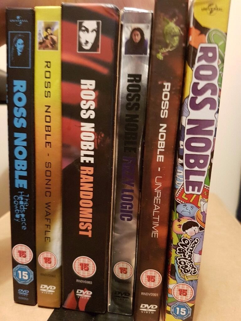 Ross Noble DVDs