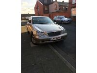 Mercedes C220 CDI - Diesel Year 2003 Automatic Fully loaded tax mot £750 or swap