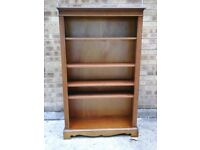 4 shelved pine bookcase