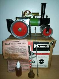 Mamod live steam engine roller