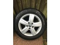 VW t5 THUNDER ALLOYS x 4