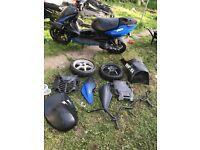 Yamaha aerox 70 registered at a 50 spares or repairs