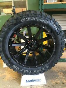LOWEST PRICE + FULLY WARRANTIED COMFORSER MUD TIRES / ALL SEASON / ALL TERRAIN / TRUCK, CAR AND SUV TIRES - WHOLESALE!!