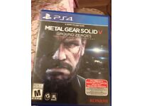 Ps4 video game