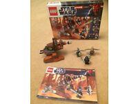 Lego Star Wars Geonosian Cannon 9491 with Box