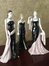 COALPORT LADIES - Limited Edition/ Numbered Pieces - (See Individual Photos - Can Sell Separately)