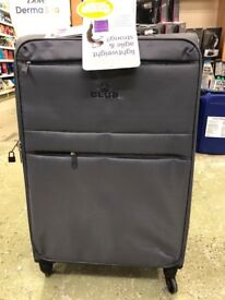 Grey Club Suitcases (4 sizes available)